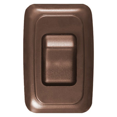 BROWN CONTOURED WALL SWITCH