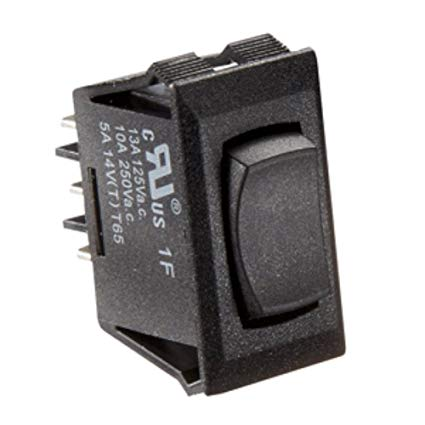 BLACK ROCKER SWITCH