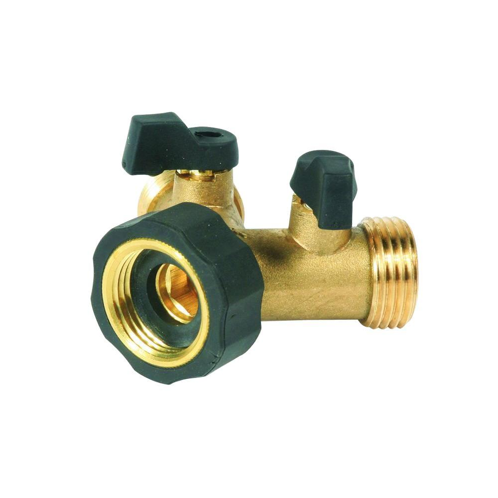 CAMCO BRASS Y SHUT OFF VALVE