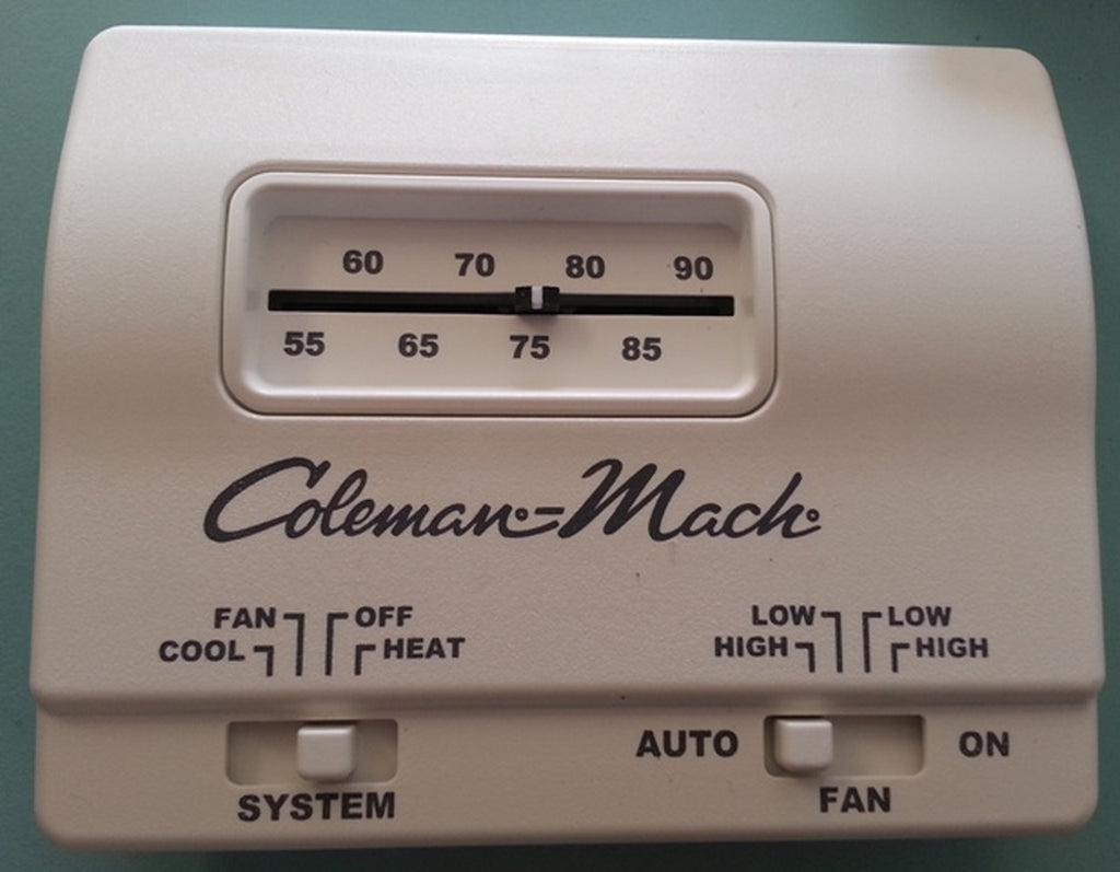 COLEMAN THERMOSTAT HEAT/COOL 12V