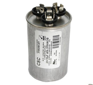 DOMETIC CAPACITOR 20/10 MFD