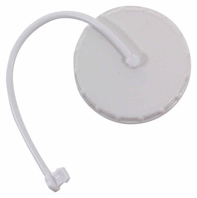 GRAVITY WATER FILL CAP/STRAP WHITE