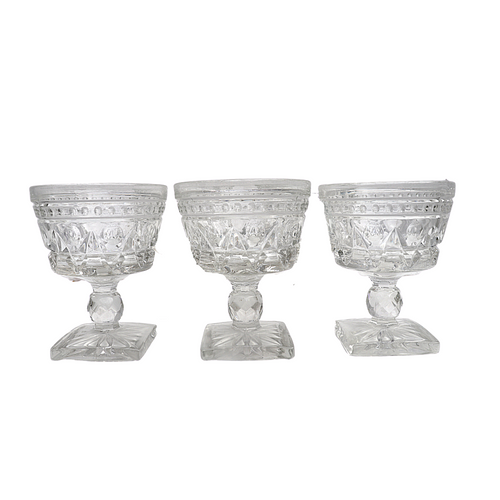 Clear Indiana Colony Park Lane Glassware: Set of 6
