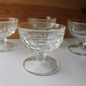 Crystal Flared Glasses: Set of 6