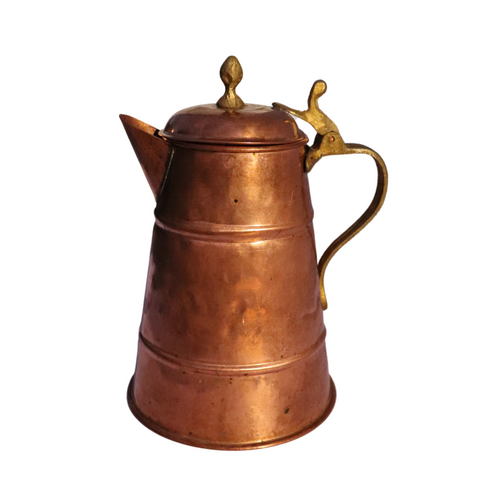 Copper & Brass Coffee Urn/Teapot