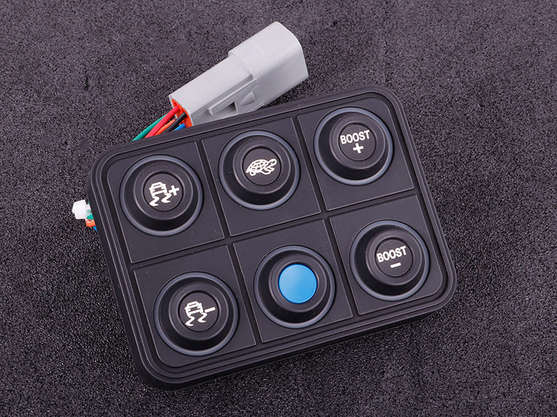 CAN keypad (6 keys) multi color LED