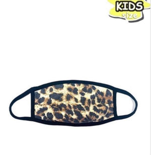 Cheetah Print KIDS Mask