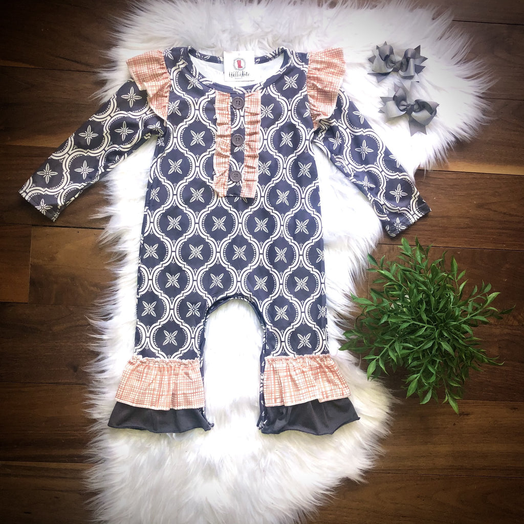 Farmhouse Tile Romper