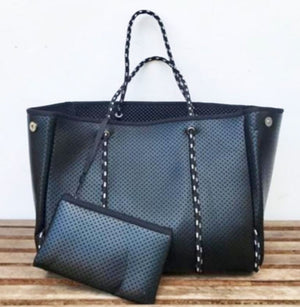 Neoprene Bag Black w/ Solid Black Inside