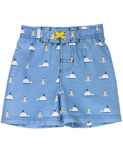 Whale of a Time Swim Trunks