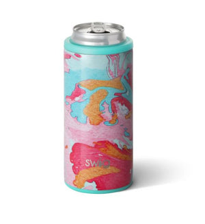 Cotton Candy Swig Slim Can Insulated Koozie