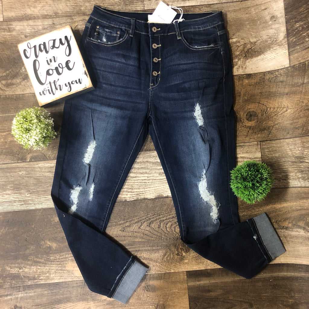 KanCan Leary Distressed Jeans