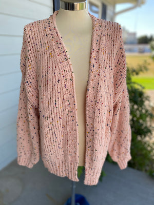 Sprinkle Cable Knit Cardigan