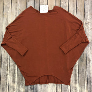 French Terry Dolman Sweater