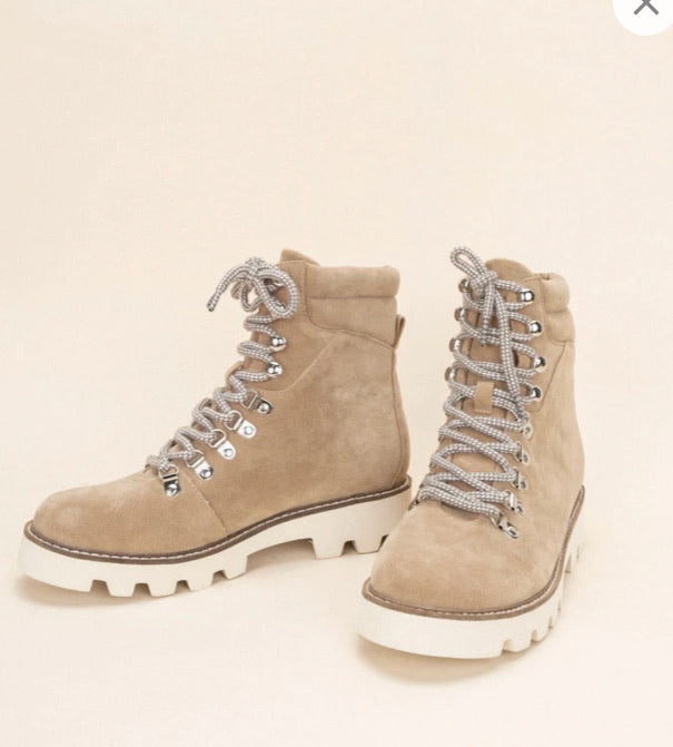 """Arlene"" Lace Up Boots"