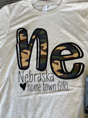 NE Camo hometown girl