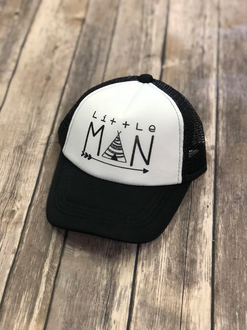 Little Man Trucker Hat