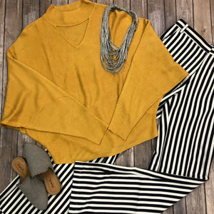 Choker Neck Dolman Top