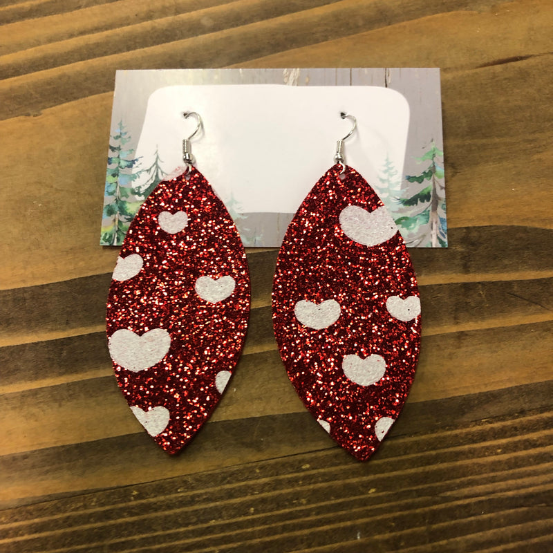 """Heart to Heart"" Earrings"