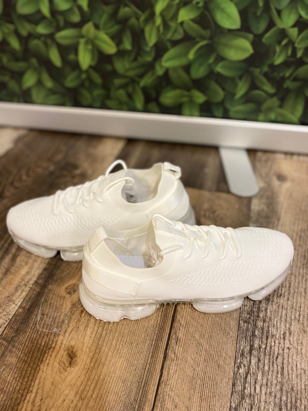 Clear Bubble Sole Sneakers