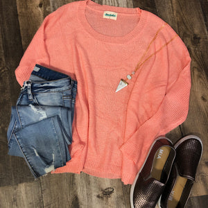 Light Weight Knit Sweater