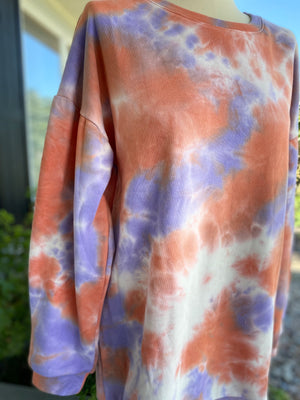 Tie Dye French Terry Dres