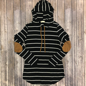 Stripe Hooded Tunic