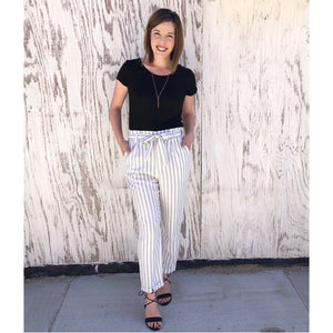 Striped Woven Pant