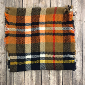 Plaid Infinity Scarf