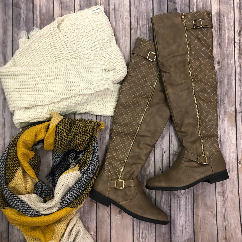 Elva-Over the Knee Boots