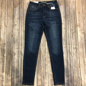 Dark Wash Skinny Jean-Nature