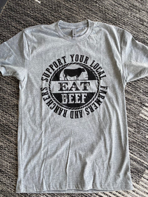 EAT BEEF SUPPORT LOCAL