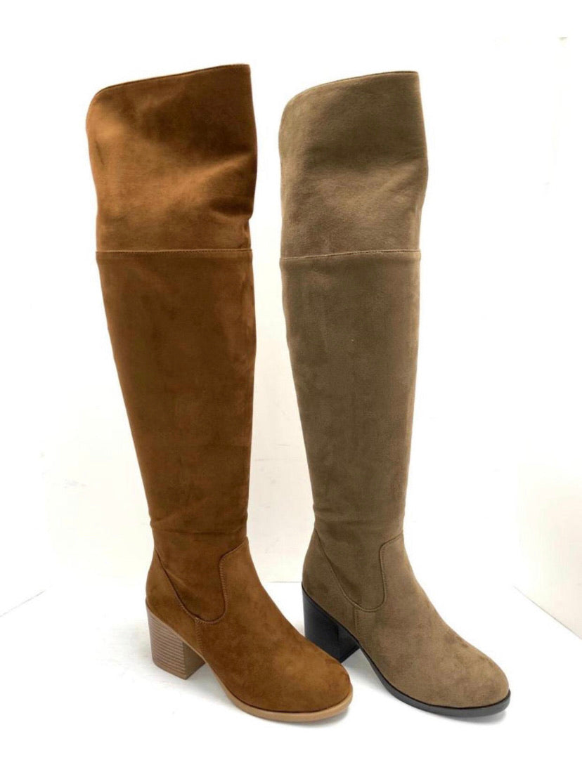 Congo Knee High Boots