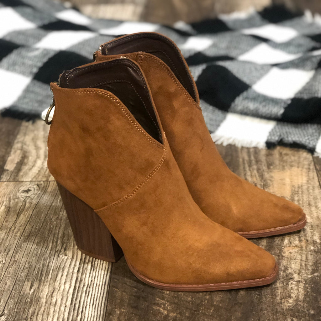 Slay-Suede Ankle Boot
