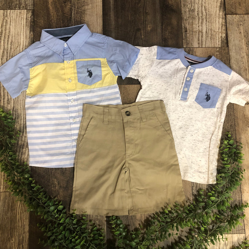 US Polo Boys Set