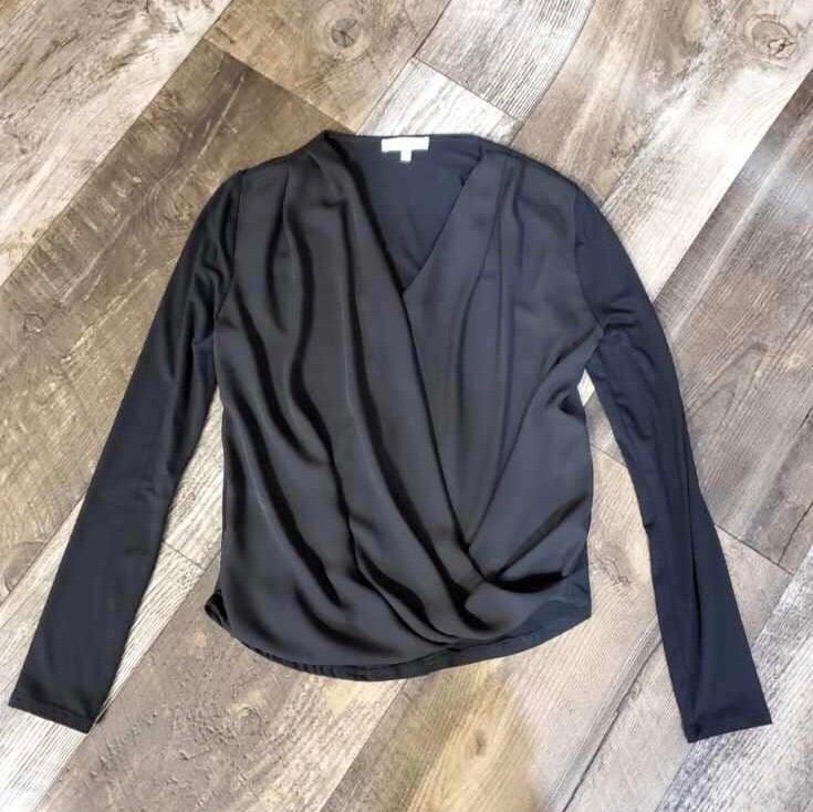 Crossover Long Sleeve Top