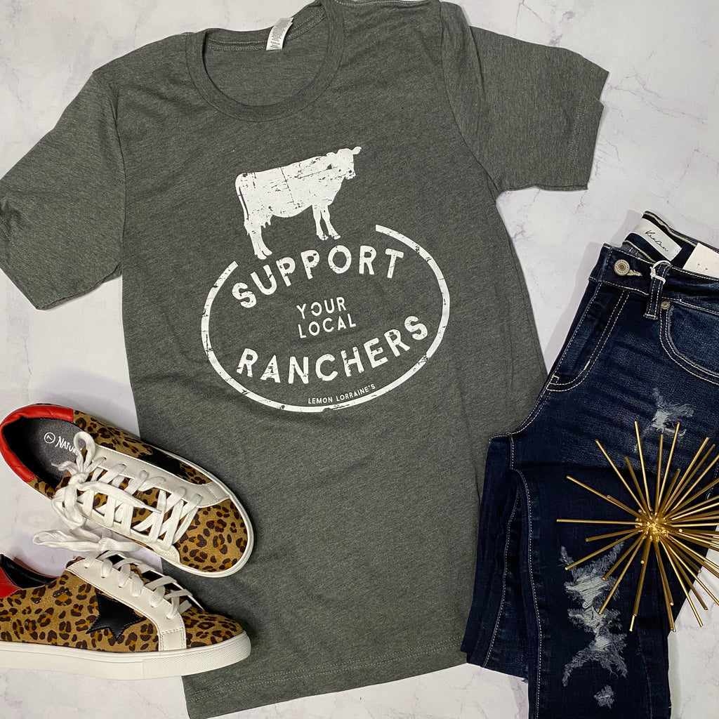 Support Your Local Ranchers-Tee