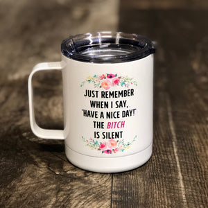 Have a nice day-travel mug