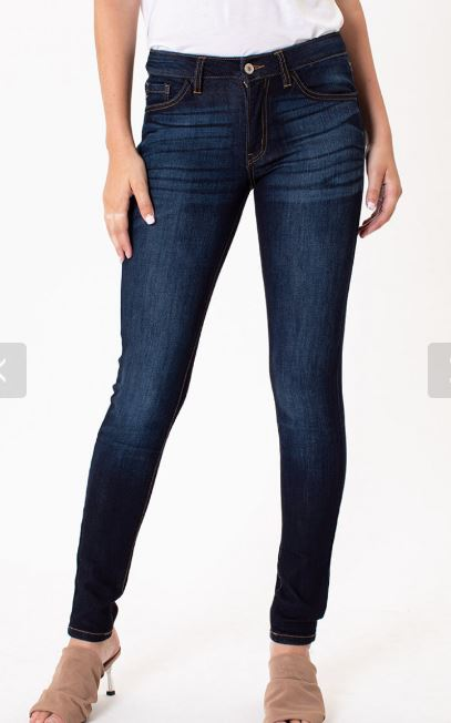 Mid Rise Non Distressed Skinny-KC