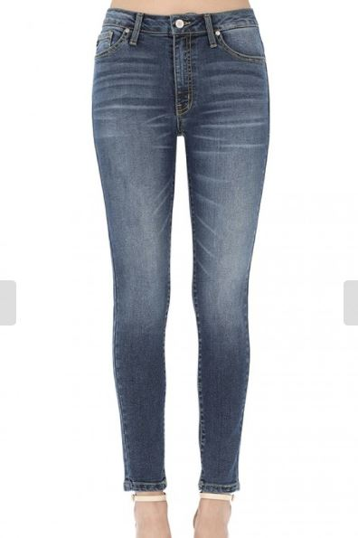 Mid Rise Light Skinny Jean-KC