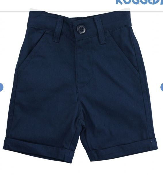 Navy Chino Shorts Rugged Butts
