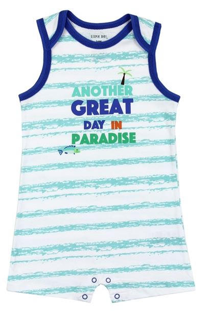 Great Day Paradise Boys Romper