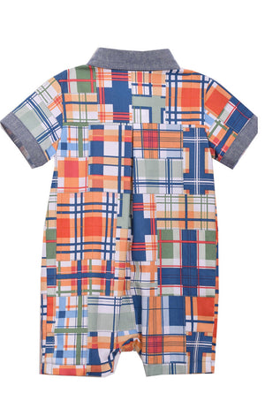 Patchwork Coverall