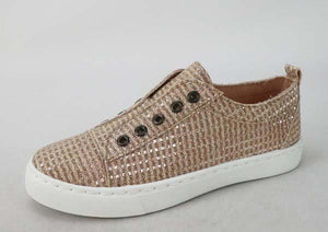 Slip-on Canvas Sneakers Rose Gold