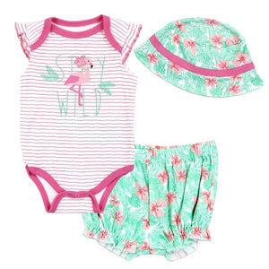 Stay Wild Flamingo Set