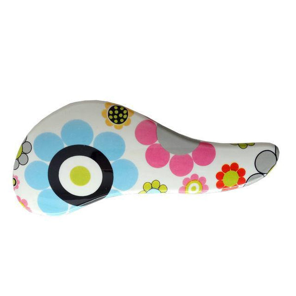 LD Pretty Brush flowers Magic Handle Hair Brush