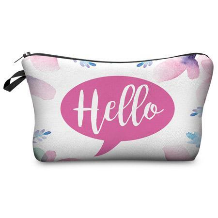 LD Pretty Cosmetic Case 7 Women Travel Makeup Case