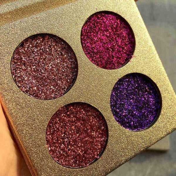 LD Pretty eye 1 Glitter Eyeshadow Brand Palette High Pigments