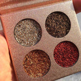 LD Pretty eye 2 Glitter Eyeshadow Brand Palette High Pigments