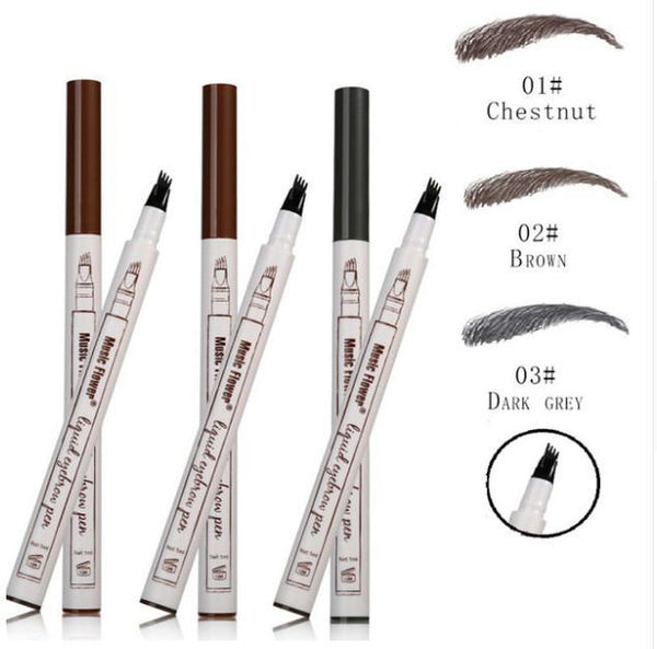 LD Pretty eye ALL 3 Colours 50% OFF Fork Tip Eyebrow Tattoo Pen